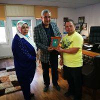 turkiye engelliler vakfi genelbaskani zulfinaz abedan